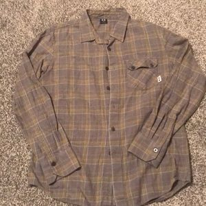 Oakley flannel shirt